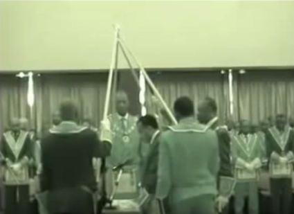 Franc maçonnerie: Intronisation du Grand Maître Sassou Nguesso
