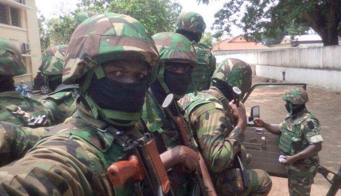 Présence des militaires étrangers incontrôlés par le Chef d'Etat-major, Guy Blanchard Okoï