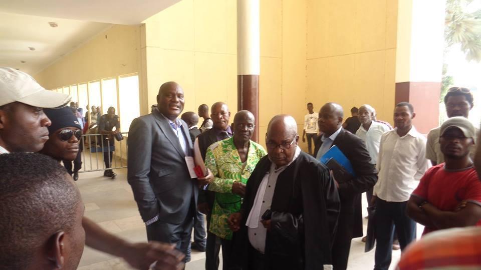 Cinq ans de prison ferme requis contre l'opposant congolais Paulin Makaya