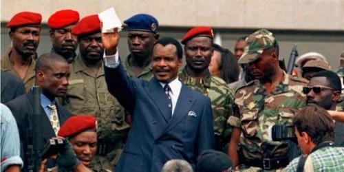 Sassou renforce la sécurité du palais par des mercenaires