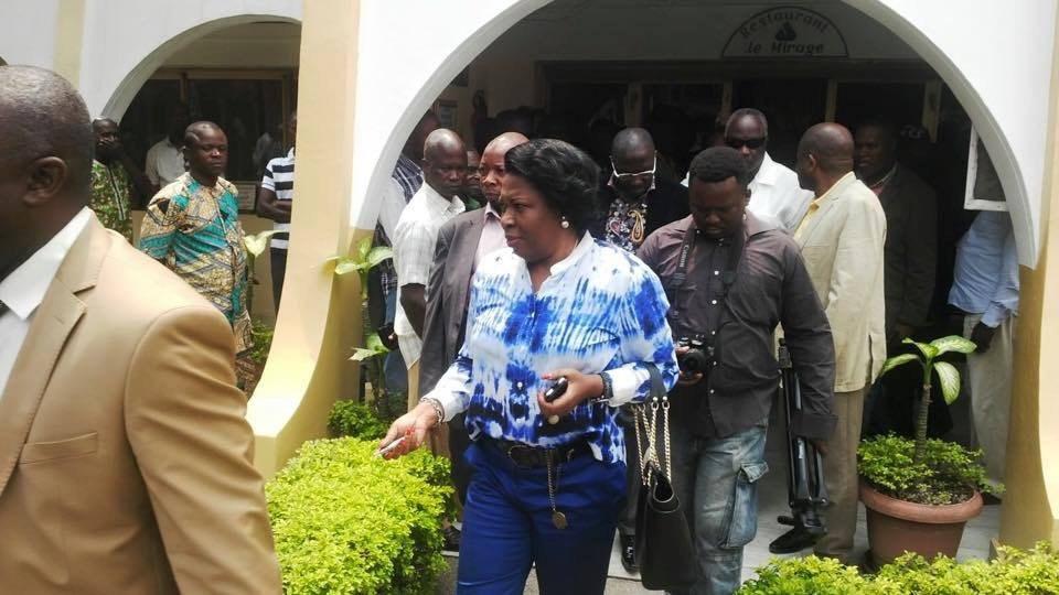 Top déclaration: Claudine MUNARI la Présidente du MUST monte au créneau