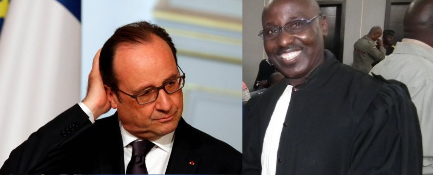 Lettre ouverte de Maitre Amédée Nganga à François Hollande