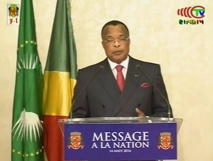 Discours à la nation de Sassou Nguesso