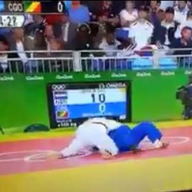 RIO 2016: Le judoka congolais éliminé en 16 Secondes