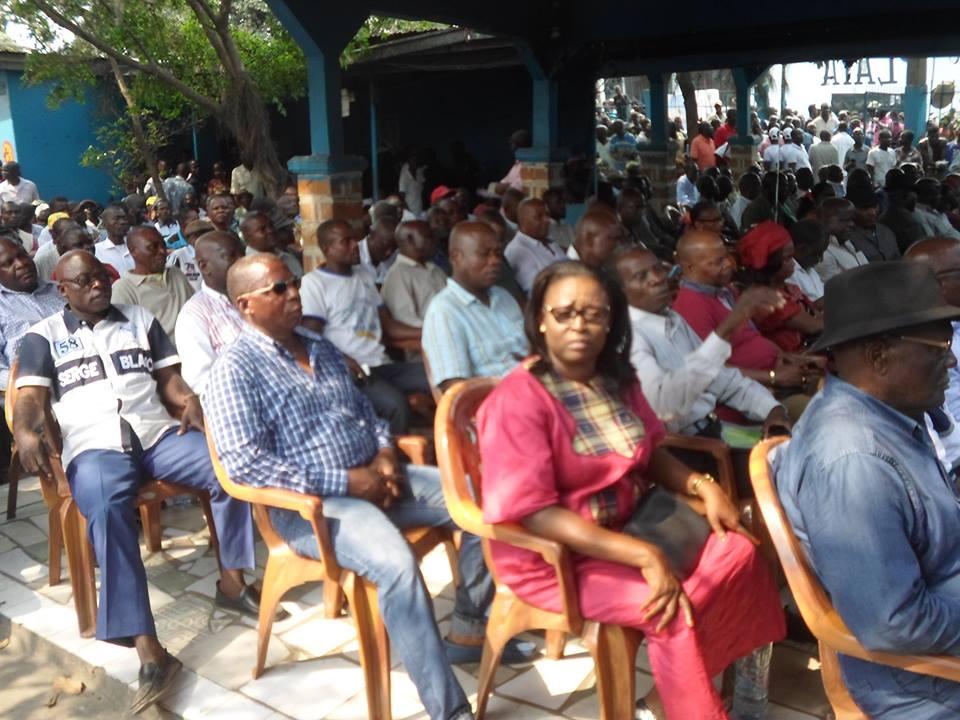 Descente du Président de la CODEHA, Guy Brice Parfait Kolelas à Mayanga et Madibou