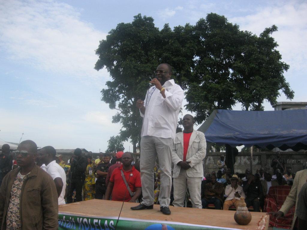 CODEHA-Brazzaville: Calendrier des descentes du Président Guy Brice Parfait Kolelas