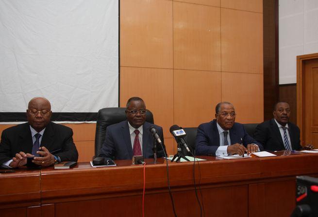 Conférence de presse du collectif des partis de l'opposition du 26 septembre 2016