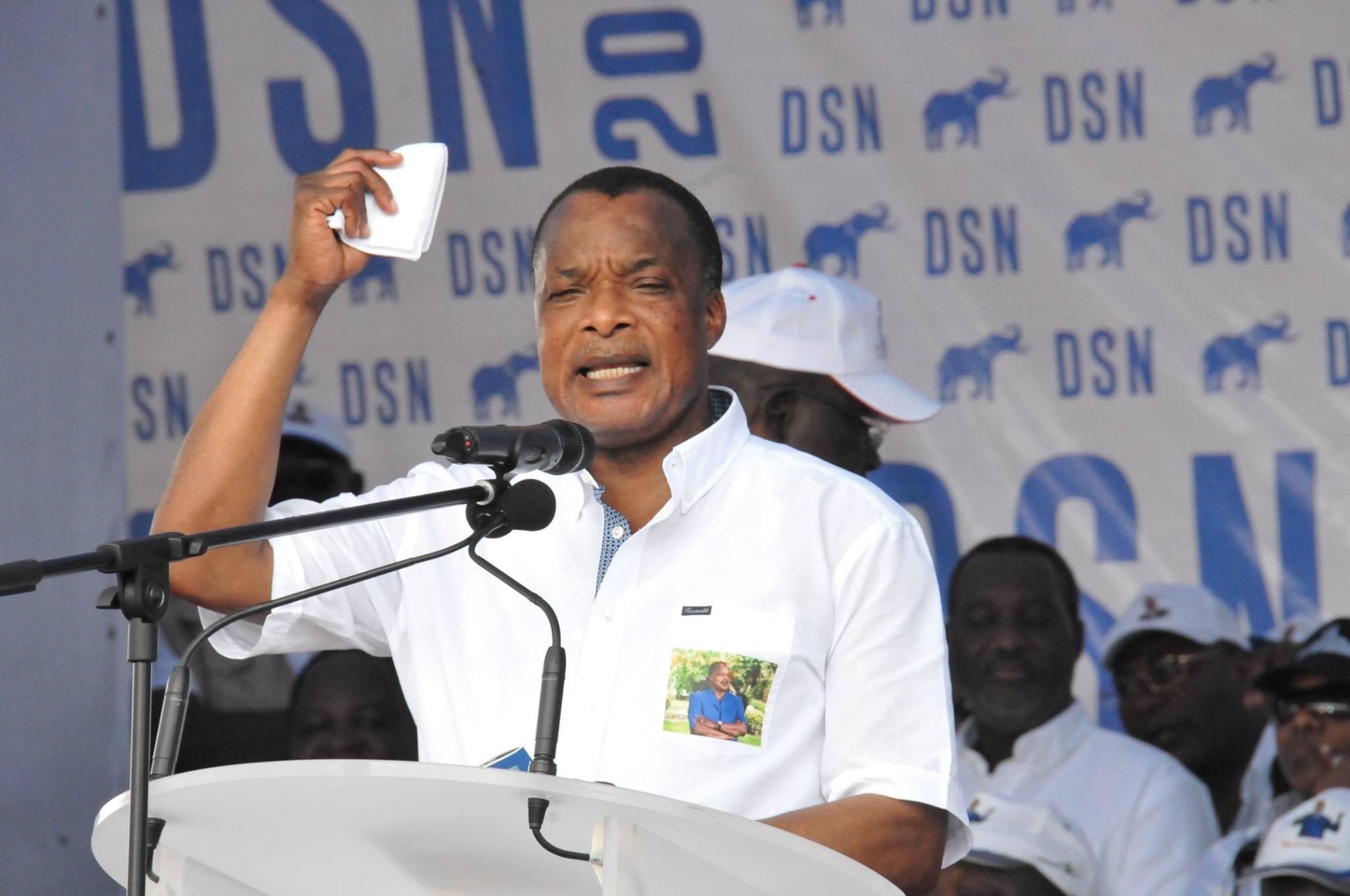 La volte-face du tyran Sassou