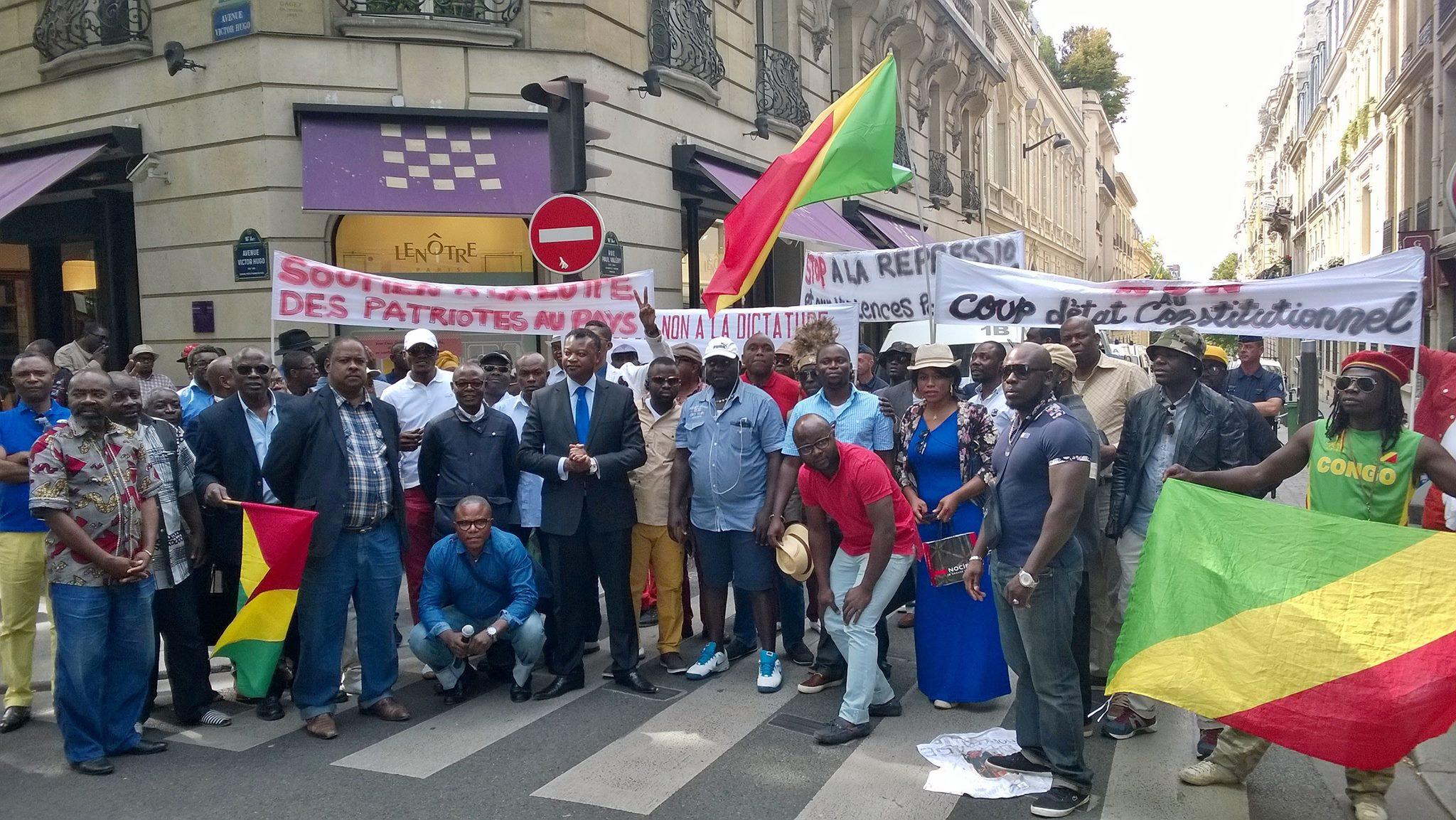 Manifestation de la diaspora congolaise ce samedi 25 février 2017 à Paris au Trocadéro