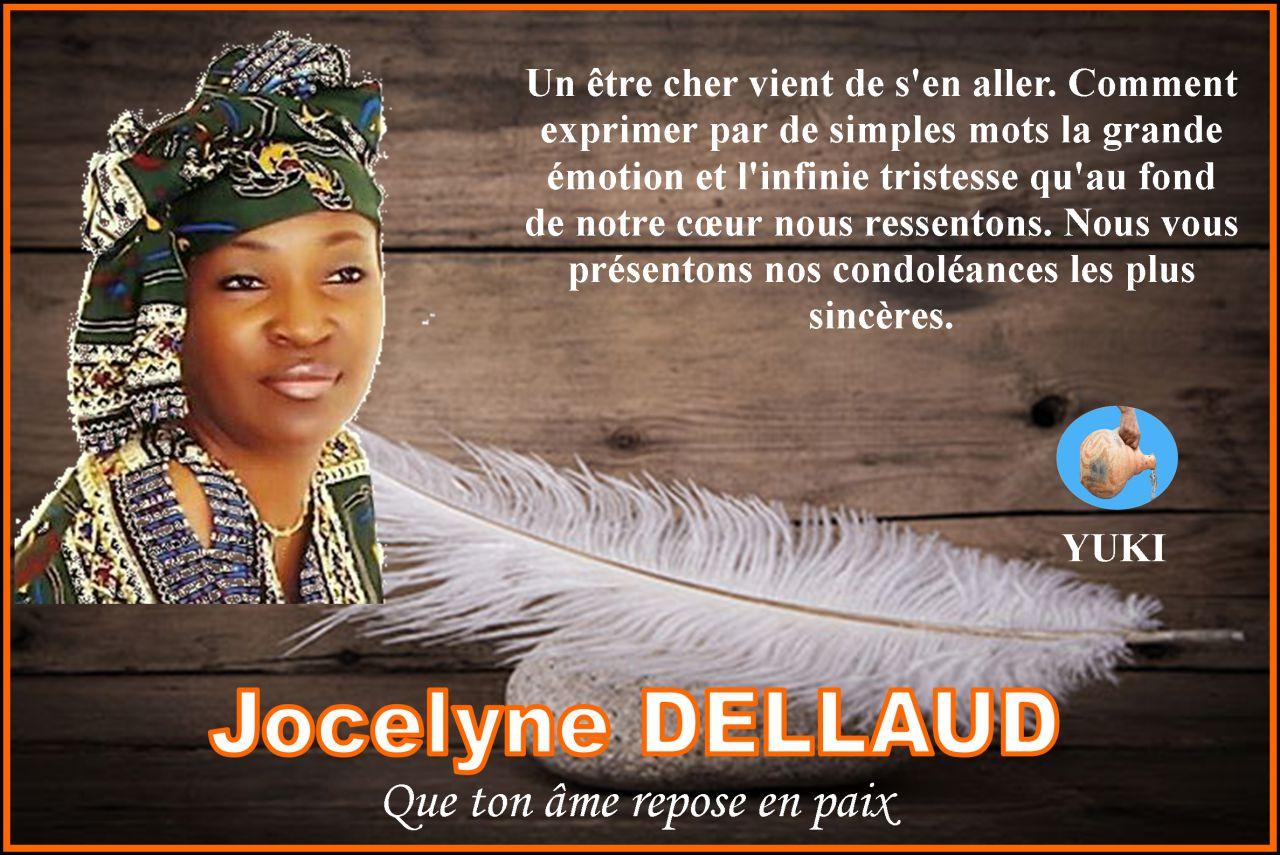 Avis de décès : Madame Jocelyne Dellaud n'est plus