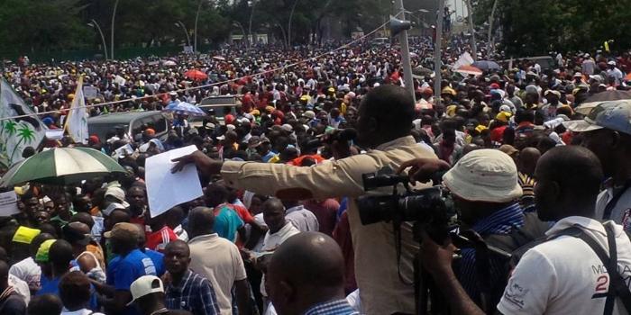 Samedi 12 novembre 2016 : Convention de l'opposition congolaise dans sa diversité