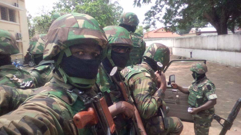 Tentative d'enlèvement et d'assassinat du Général Jean Marie Michel MOKOKO et du Colonel Marcel NTSOUROU dans la nuit du 2 au 3 novembre 2016 à la maison d'arrêt de Brazzaville