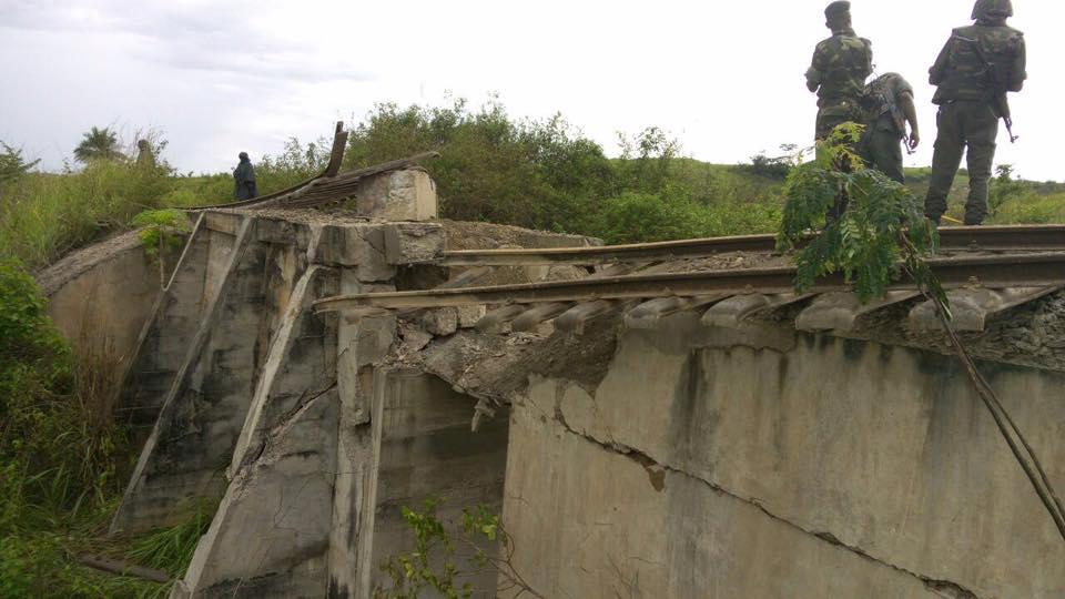 Les Ninjas Nsilulu ont dynamité un pont au Pk 360 près de Kinkembo