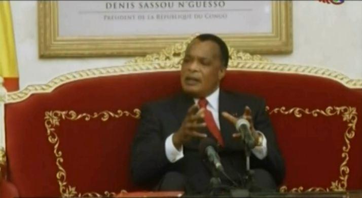 Sassou Nguesso parle du dialogue devant les sages alimentaires [Vidéo]