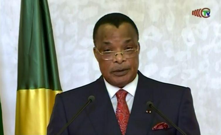 Message de voeux de Sassou Nguesso à l'occasion du nouvel an 2017