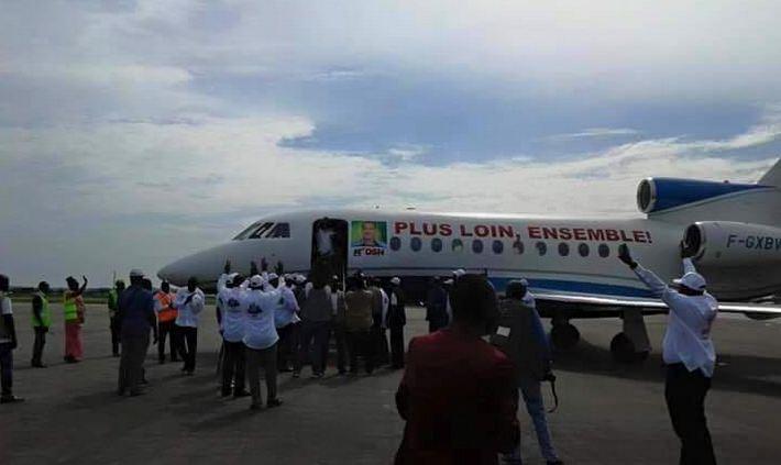 Le Falcon 7X de Sassou Nguesso immobilisé pour factures de réparation non payées