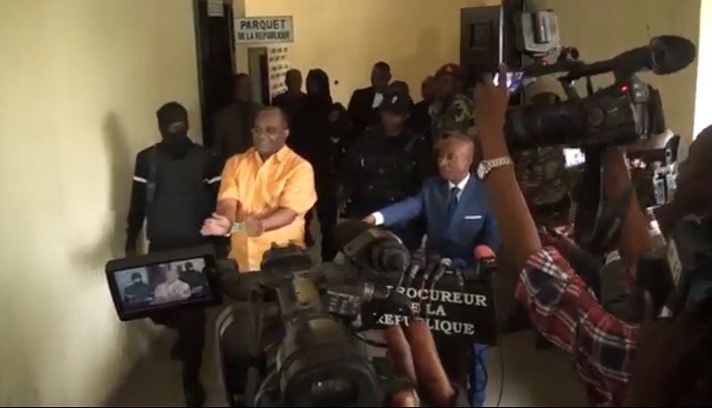 Le député André Okombi Salissa déféré à la Maison d'arrêt de Brazzaville