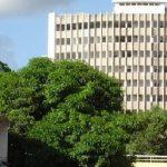 Le siège de la SNPC, dans le centre de Brazzaville, où Nizar Ben Abdallah, patron de la société parisienne Consosystem, était chargé de mettre en place un nouveau système informatique.