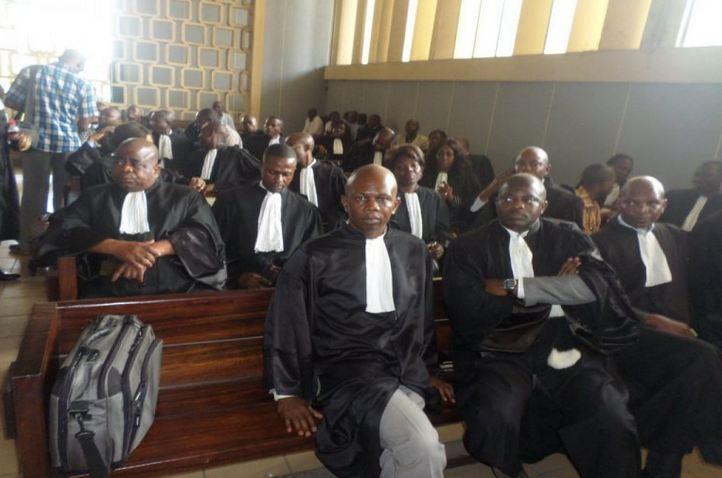 Les avocats exigent la libération de Me Ludovic Désiré ESSOU, avocat du Colonel Ntsourou et d'André Okombi Salissa