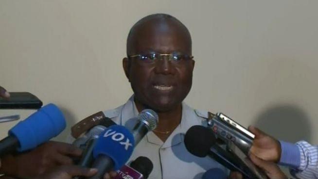 Décès du Colonel Marcel Ntsourou : Communiqué de l'hôpital militaire par le Général IBATA [Vidéo]
