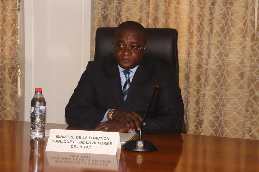 Ange Wilfrid Bininga veut faire la chasse aux fraudeurs de la fonction publique