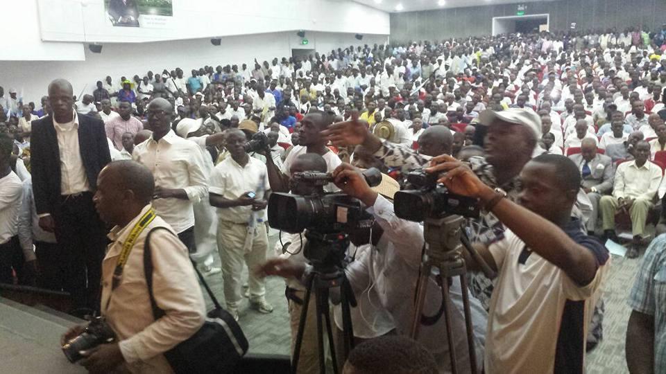 Congrès de l'UDH-Yuki : Une démonstration de force