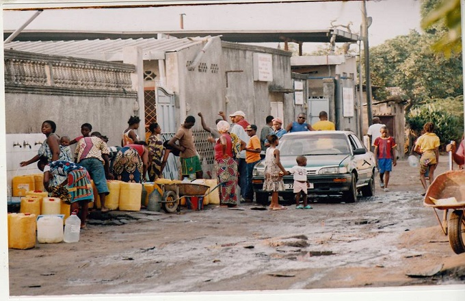 La SNDE déconseille les populations de boire l'eau de pluie