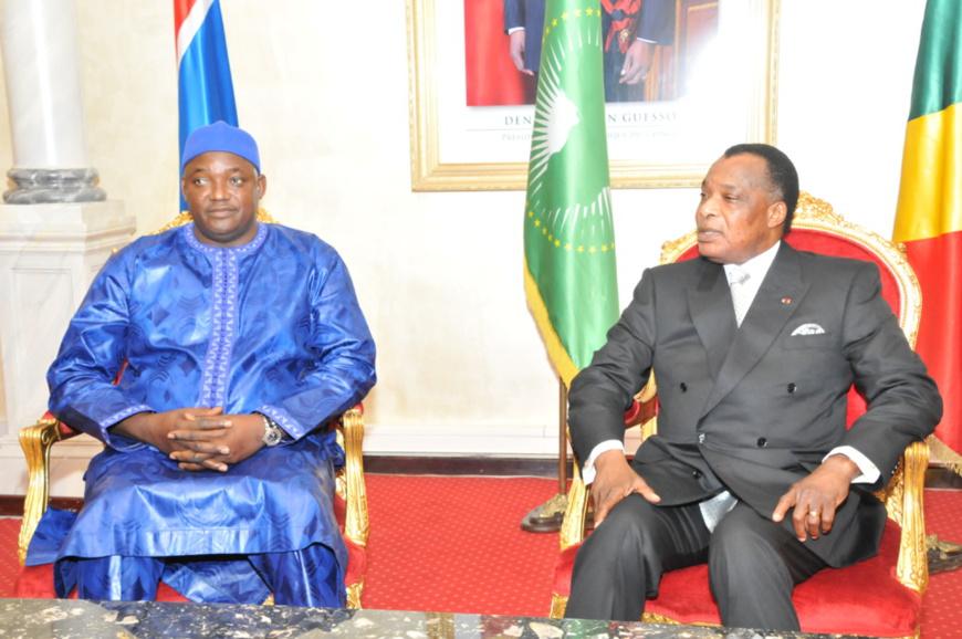 Adama Barrow en pèlerinage à Brazzaville : Le premier faux pas