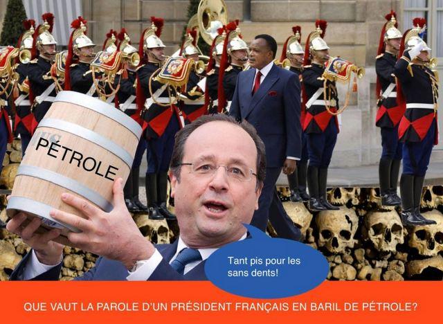 Sassou Nguesso fait un cadeau d'un milliard de dollars par an aux opérateurs pétroliers