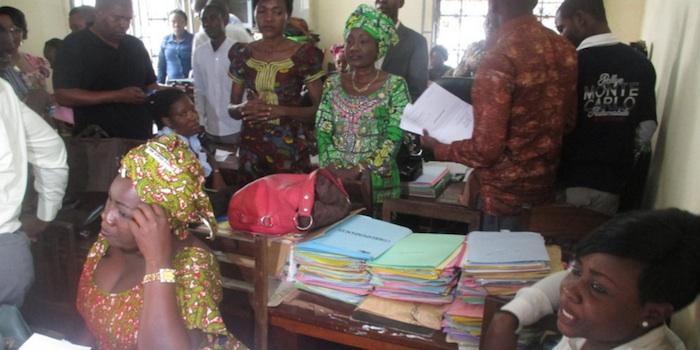 Congo-Brazzaville : Bord ézanga kombo