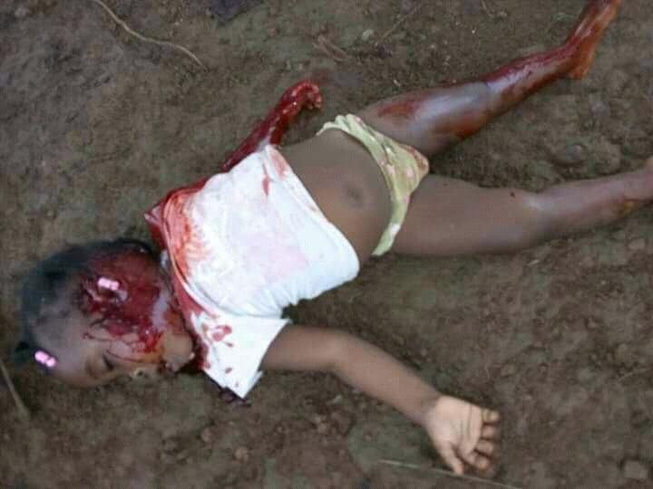 Une fillette abattue à Mouyondzi dans le département de la Bouenza