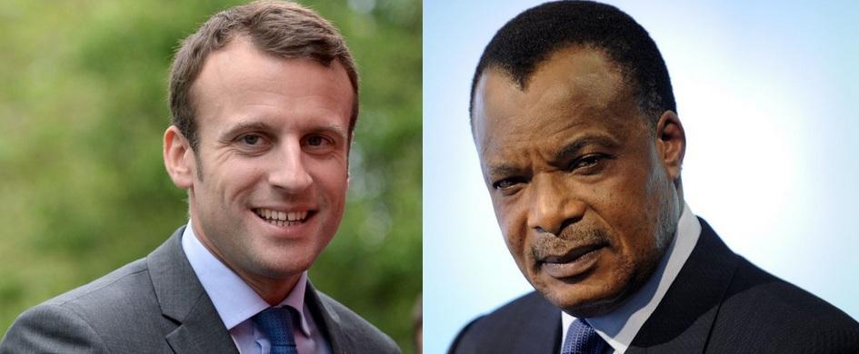 Emmanuel Macron ringardise Denis Sassou Nguesso