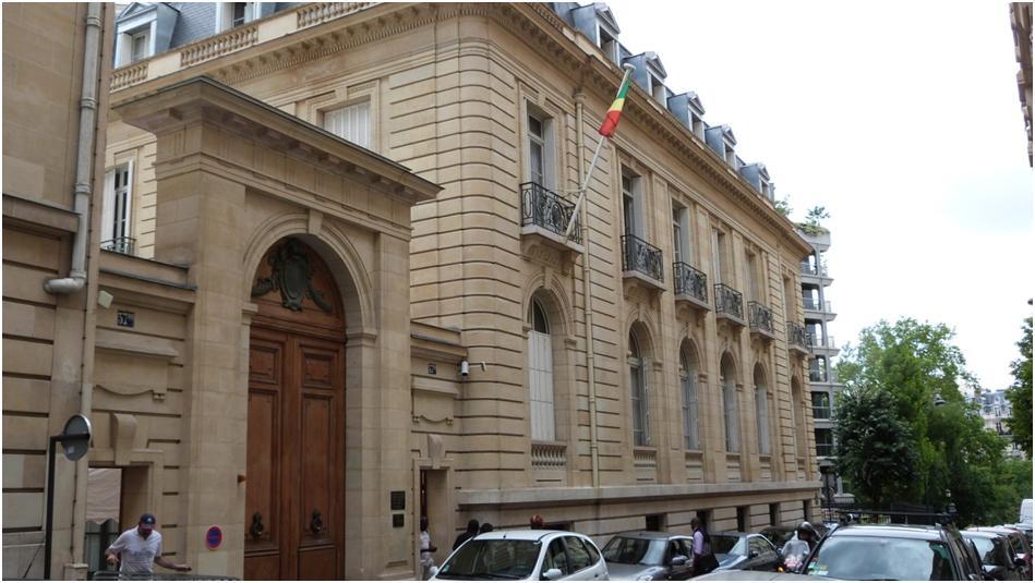 Ambassade du Congo à Paris en mode « cadavéré »