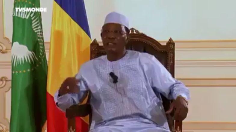 Le Président Idriss Deby accuse la France d'avoir changé la constitution du Tchad