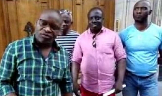 Les indignés du 242 menacent la famille Sassou Nguesso à Paris [Vidéo]