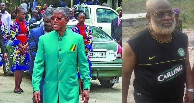 Le combat des coqs de Jean Dominique Okemba et Nianga Ngatsé Mbouala
