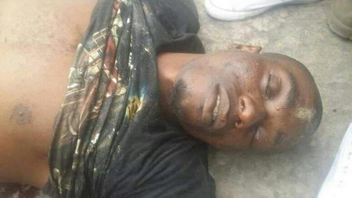 KAPO, abattu sans raison à Kinsoundi par les miliciens du régime