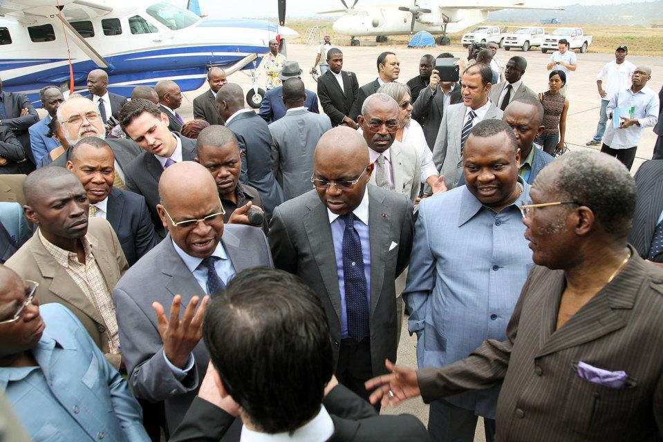 Quand la bande des 7 menace et détruit le Congo