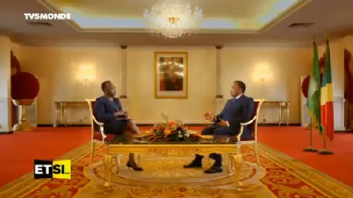 Interview de Denis Sassou Nguesso sur Tv5 Monde [Vidéo]