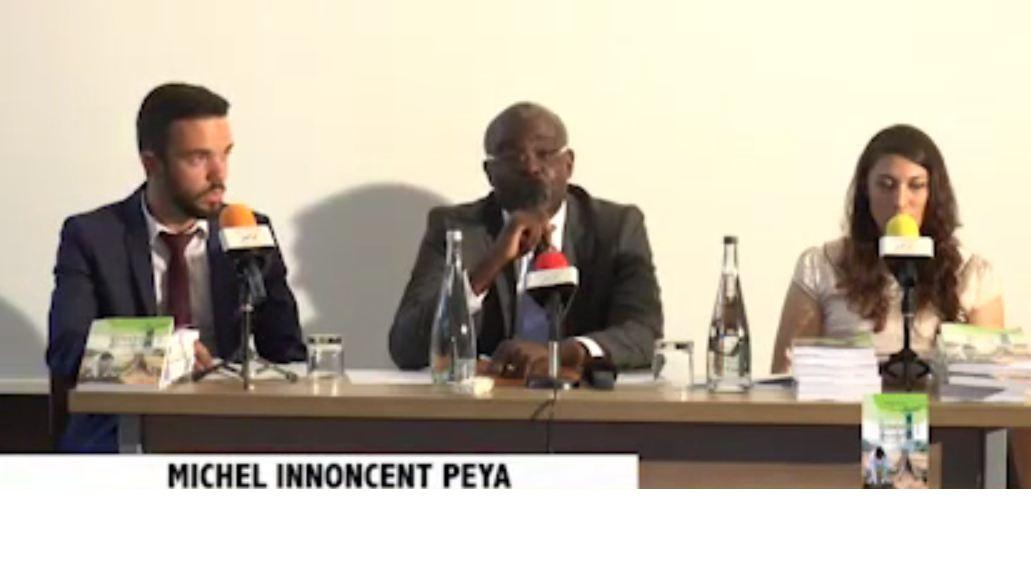 Écologie : Michel Innocent Peya vend «Vision verte de Denis Sassou Nguesso » à la Diaspora congolaise de France et à la presse internationale