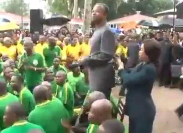 Contre-amiral Jean Dominique Okemba, votre solution pour résoudre le conflit armé dans le Pool [Vidéo]