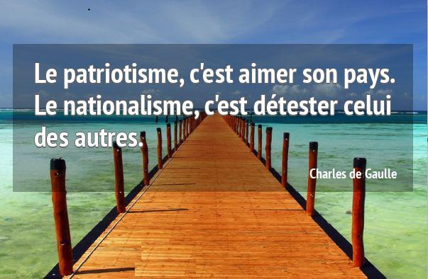 A l'attention de Sassou Nguesso : Quand on aime son pays …..