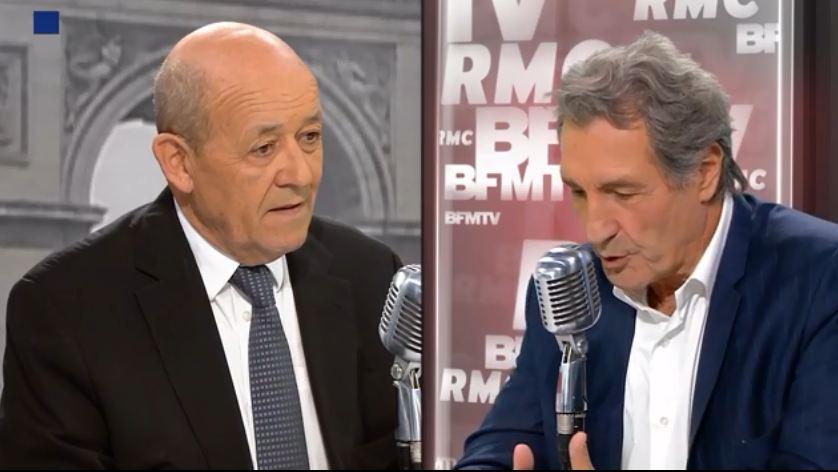 Conflit Libyen : Le Ministre Français des affaires étrangères Yves le Drian met Sassou Nguesso hors-jeu [Vidéo]