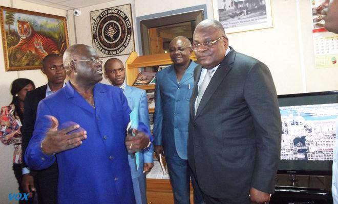 Lettre de la Directrice Adjointe Afrique du FMI à Calixte Nganongo, le ministre congolais des Finances et du budget