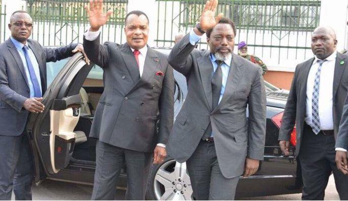 Joseph Kabila et Sassou Nguesso félicitent Dos Santos pour l'alternance !