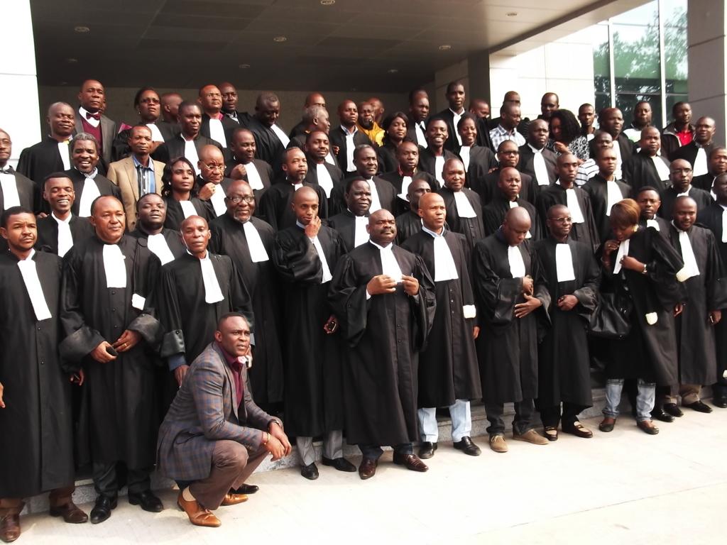 Grève des avocats congolais à part du 1er décembre 2017