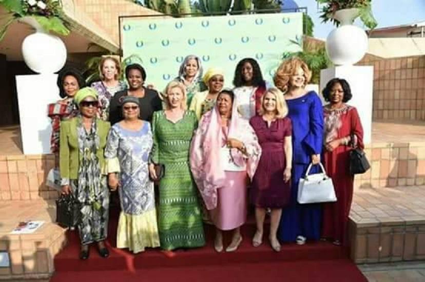 Quand Claudia Sassou Nguesso se prend pour la première dame du Congo