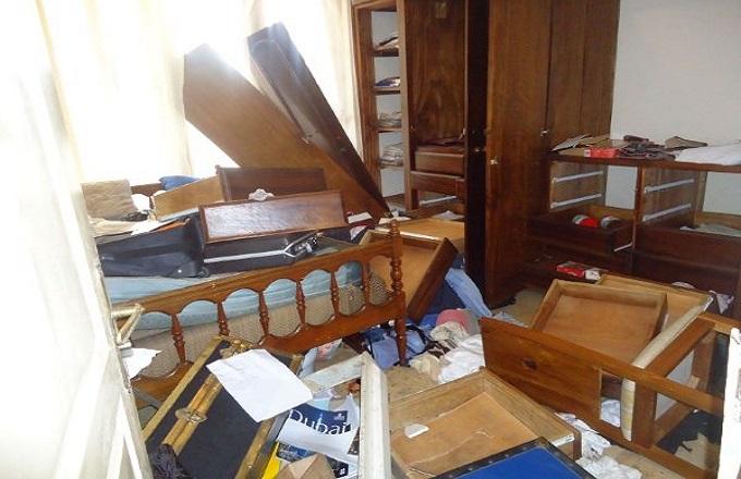 Dolisie : La maison du député Jean Jacques Mouanda dit Fâcher, saccagée par les gendarmes