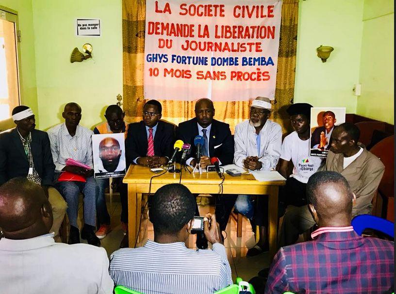 Point de presse sur la détention illégale et l'état de santé de Ghys Fortuné Dombe Bemba
