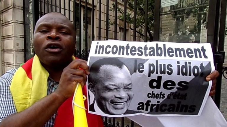 La mère du résistant Roland Levy Nitou convoqué au Commissariat Central de Brazzaville